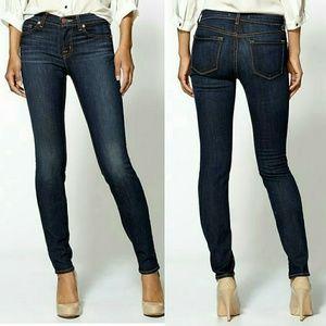 J brand skinny leg in dark vintage side 27